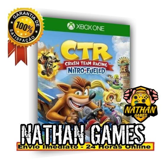 Crash Team Racing Nitro-fueled - Xbox One + Brinde