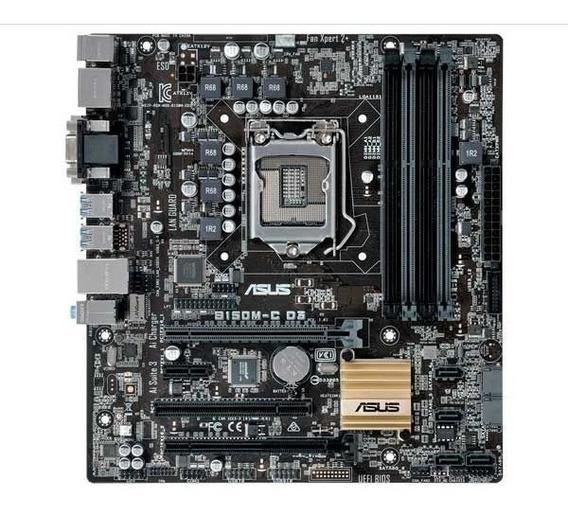 Kit Processador I5 7400 + Placa Mãe Asus B150m-c D3