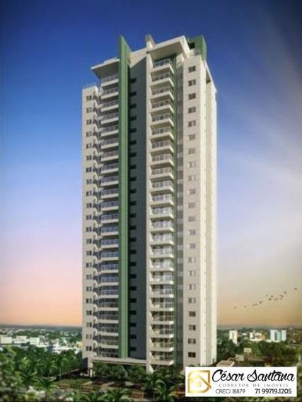 Apartamento 3/4 Com Suíte E Varanda - Greenville - Patamares - Salvador - Ap00759 - 34230610