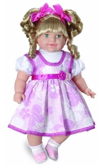 Boneca Thaily Fala 50 Frases Brincar - Brinquedos Anjo
