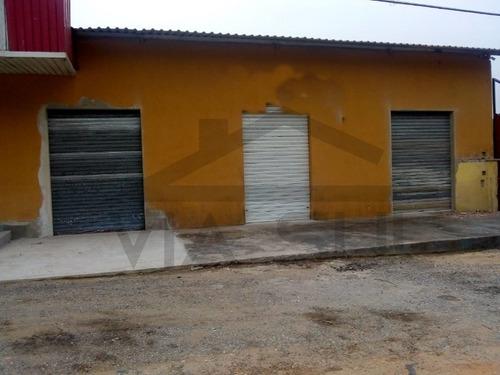 Imagem 1 de 3 de Salão Comercial Para Locação Em Juquitiba - 337 - 34696662