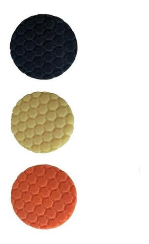 Imagen 1 de 8 de Kit X 3 Pad De Corte 7,5' Eeuu Buff Shine Pulido 3d Cut