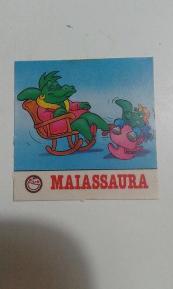 Elma Chips Figurinha Gang Sauros Maiassaura Elma Chips