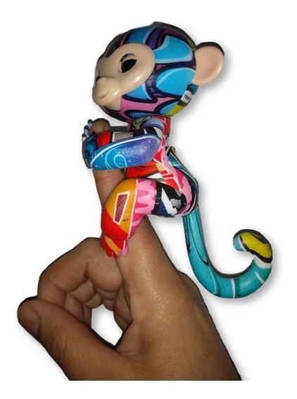 Agarradinhos Macaquinho Monkey Baby Finger Falante