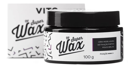 Cera Modeladora The Super Wax 100g - Pomada Vito
