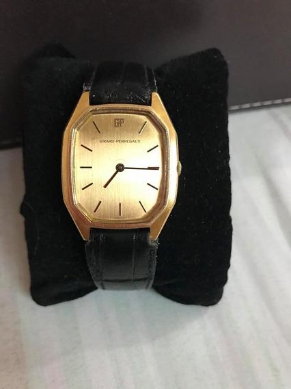 Hermoso Reloj Vintage De Cuerda Manual Girard Perregaux
