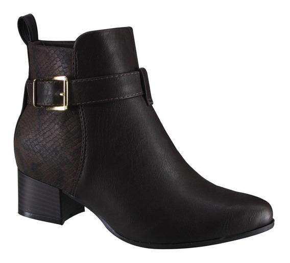 Bota Ankle Boot Ramarim 17-59101 000007 | Katy Calçados