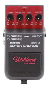Waldman Bch-2 Bass Super Chorus Pedal Baixo