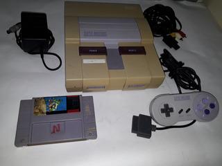 Consola De Super Nintendo Con Super Mario World