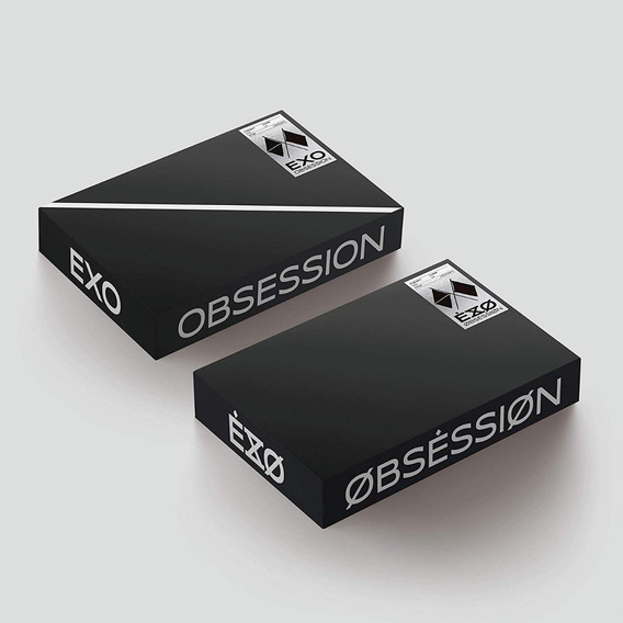 Exo 6th Album Obsession Cd Nuevo Import (aleatorio)
