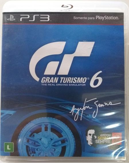 Jogo Ps3 Gran Turismo 6 Edição Ayrton Senna