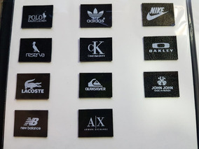 d2edd8ef6 Etiquetas De Grifes Famosas - Acessórios da Moda no Mercado Livre Brasil