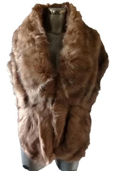 Elegante Capa Estola Peluche Accesorio Novia Fax Fur