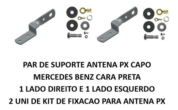 Suporte Para Antena Px Do Capo Mercedes Benz Cara Preta