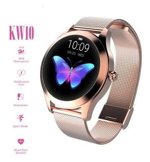 Relógio Luxo Inteligente Bluetooth Android/ios + 1 Pulseira