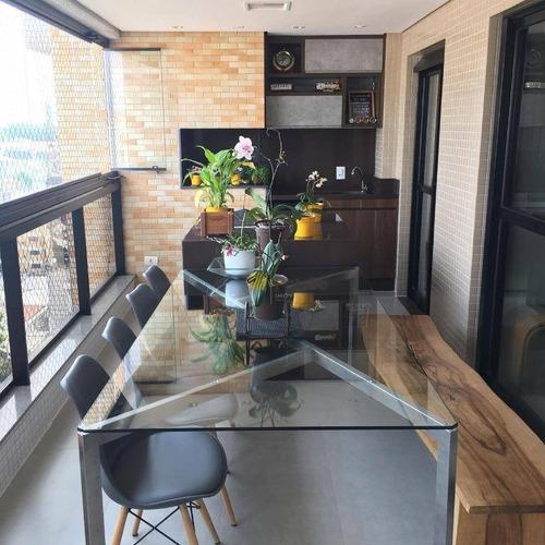 Apartamento À Venda, 177 M² Por R$ 1.590.000,00 - Vila Dayse - São Bernardo Do Campo/sp - Ap2854