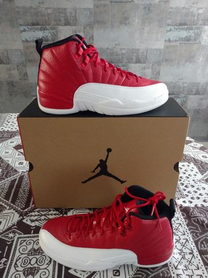 Tenis Air Jordan 12 Retro Gym Red