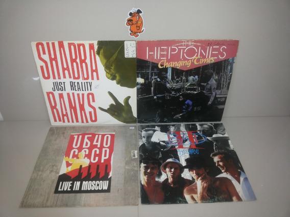 Lp Vinil Heptones Shabba Big Audio Ub40 - Lote - Reggae