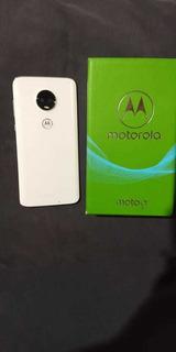 Smartphone Motorola Moto G7 Polar Xt1962 64gb, Tela De 6,24
