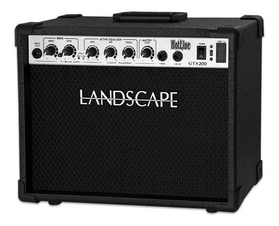 Amplificador Cubo Guitarra 20 Watts Hotline Landscape Gtx200