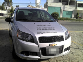 Chevrolet Aveo 1.6 Ls 2017 Manual Sedan D/henganche $ 30,800