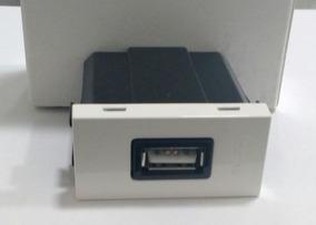 Caregador Usb 2000ma 1m 2a/5 Branco Abb 1 Modulo