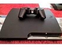 Playtation 3 120 Gb Semi Novo 1 Controle E Jogos