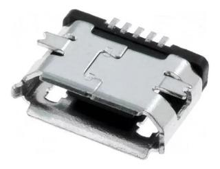 Conector Carga Micro Usb 5 Pinos Tablet Celulares