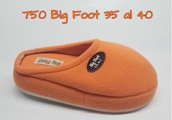 Pantufla Big Foot Gomon Polar $ 599 Nro.35 Al 40 Nesport