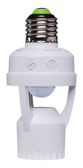 Sensor De Presenca Fotocélula Soquete E27 Intelbras Esp-360s