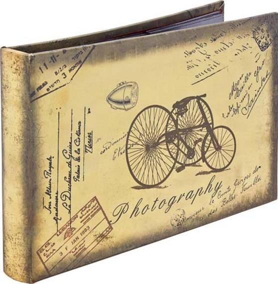 Album Fotos Triciclo Retrô 192 Fotos Goods Br 25x24x2cm