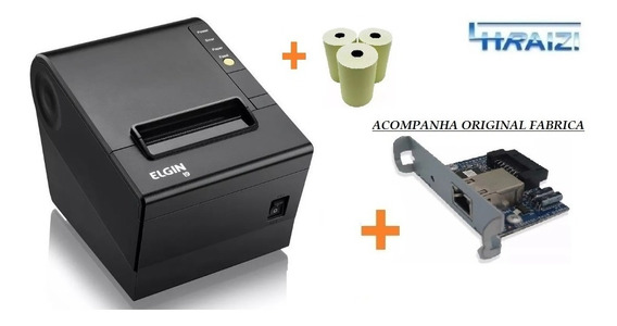 Impressora Termica Nao Fiscal I9 Usb/eth Elgin Gar.3a