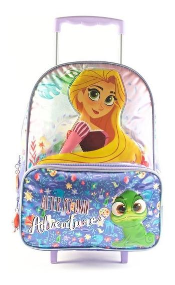 Mochila 16 Princesas Disney Solo Modelo Rapunzel