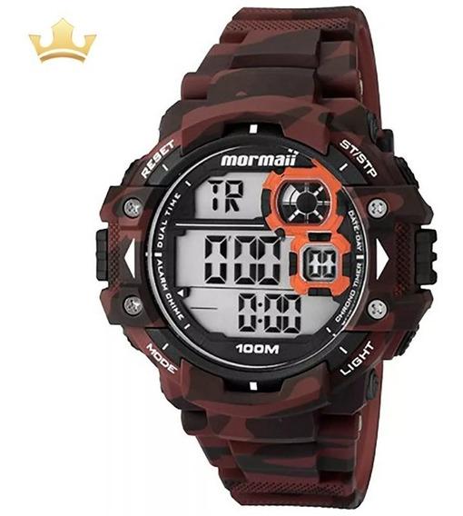 Relógio Mormaii Masculino Mo13609a/8r Com Nf