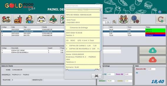 Sistema Java Delivery Pizzaria Lanchonete Esfiharia Marmitas