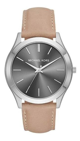 Reloj Michael Kors Hombre Piel Mk8619 - Slim Runway