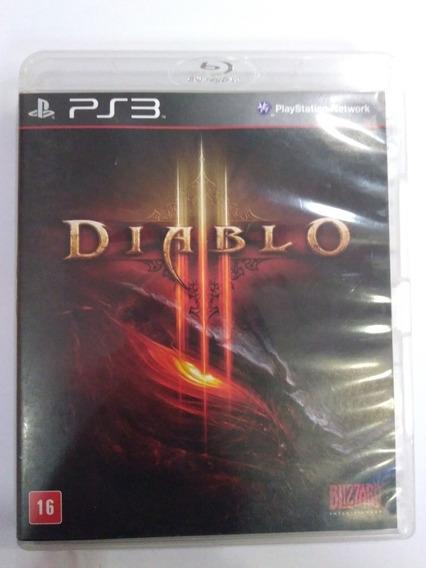 Jogo Diablo Ps3 Midia Fisica Completo R$59,9