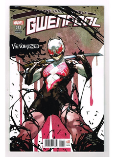 The Unbelievable Gwenpool # 13 - Variante - Televisa