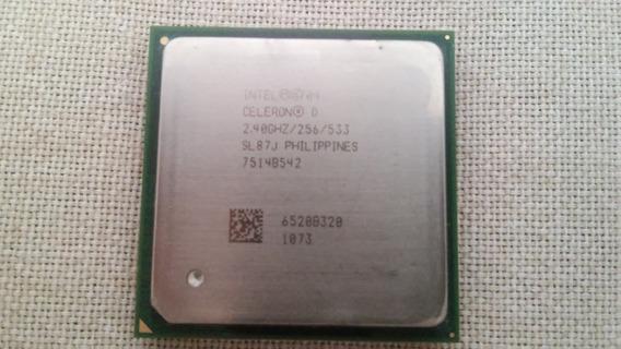 Processador Intel, Celeron D 320, Socket 478, 2,4 Ghz