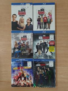 The Big Bang Theory 1 - 6 Season [blu-ray Disc]