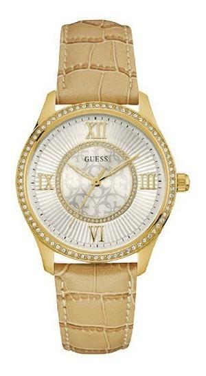 Relógio Feminino Guess 92594lpgddc1 Couro Original C/ Nfe