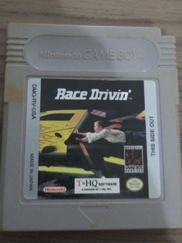 Race Drivin Original Game Boy