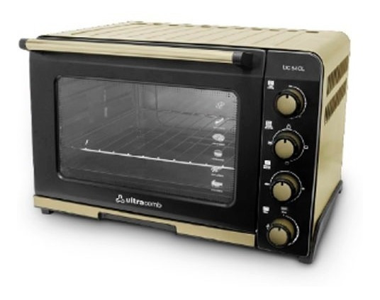 Horno Eléctrico Ultracomb Uc-54cl 1800w 54lts Uc 54 Cl Pce