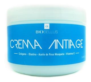 Crema Anti Age X 250 Ml Colageno Elastina - Biobellus