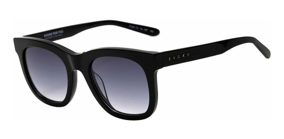 Óculos De Sol Evoke For You Ds7 A02 Óculos Black Shine Gray