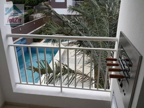 Apartamento Com 2 Dormitórios À Venda, 64 M² Por R$ 360.000 - Fundação - São Caetano Do Sul/sp - Ap0238
