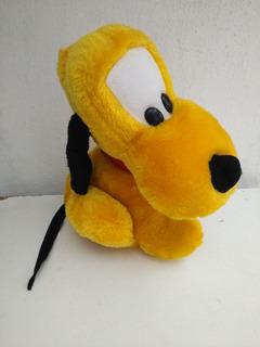Pluto De Peluche. Perro De Mickey, Disney. Usado. 30cm.