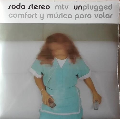 Soda Stereo - Mtv Unplugged (vinilo Doble Oficial Nuevo)