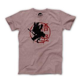 Playera Grapics Goku Paint Camiseta Geek Dragon Ball