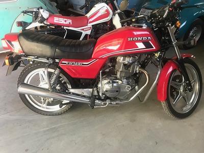 Honda Cb 400 1983 Placa Preta